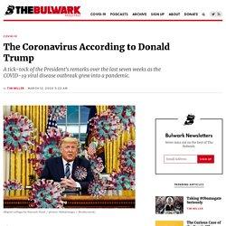 The Coronavirus According to Donald Trump