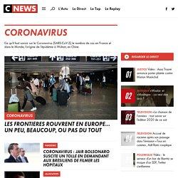CORONAVIRUS : Toute l'actualité en DIRECT sur le Coronavirus en France et dans le Monde