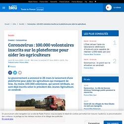 Coronavirus : 100.000 volontaires inscrits sur la plateforme pour aider les agriculteurs