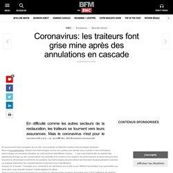 Coronavirus: les traiteurs font grise mine après des ...
