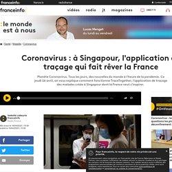 Coronavirus : à Singapour, l'application de traçage qui fait rêver la France