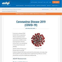 Coronavirus - ASHP