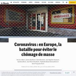 Europe, le cauchemar du chômage de masse
