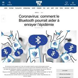 Coronavirus: comment le Bluetooth pourrait aider à enrayer l'épidémie