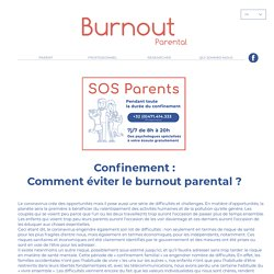 CORONAVIRUS ET BURNOUT PARENTAL - burnoutparental.com