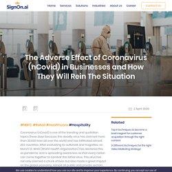 Coronavirus in Business & How They Overcome