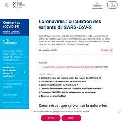 Coronavirus : circulation des variants du SARS-CoV-2 / Santé publique France, mars 2021