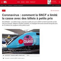 Coronavirus : comment la SNCF a limité la casse avec des billets à petits prix