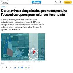 Coronavirus : cinq minutes pour comprendre l'accord européen pour relancer l'économie