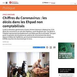 Chiffres du Coronavirus : les décès dans les Ehpad non comptabilisés