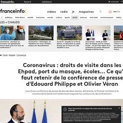 Coronavirus: Ce qu'il faut retenir de la conférence de presse d'Edouard Philippe et Olivier Véran...