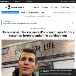 Coronavirus : les conseils d'un coach sportif pour rester en forme pendant le confinement