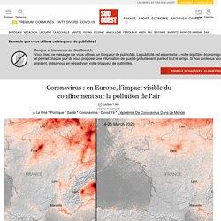 Coronavirus: en Europe, l'impact visible du confinement sur la pollution de l'air...