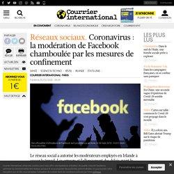 Coronavirus: la modération de Facebook chamboulée par les mesures de confinement