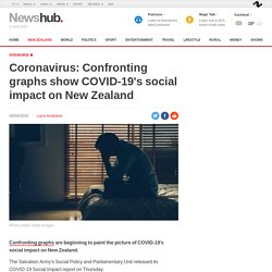 : Confronting graphs show COVID-19's social impact on New Zealand