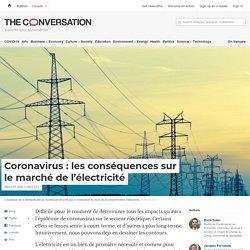 Coronavirus: lesconséquences sur lemarché del'électricité