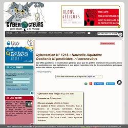 Nouvelle Aquitaine Occitanie Ni pesticides, ni coronavirus cyberaction