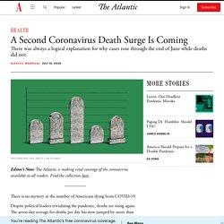 Coronavirus Deaths Are Rising Right on Cue
