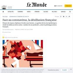 Face au coronavirus, la désillusion française