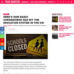 Here's How Badly Coronavirus has Hit the Education System in the US!