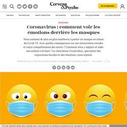 Coronavirus : comment voir les émotions derrière les masques