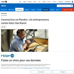 Coronavirus en Flandre: six entrepreneurs contre Marc Van Ranst