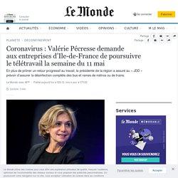 Coronavirus: Valérie Pécresse demande auxentreprises d'Ile-de-France de pou...