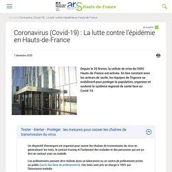 Coronavirus (Covid-19) : La lutte contre l'épidémie en Hauts-de-France