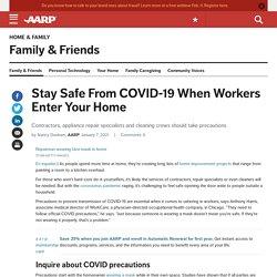 How to Limit Coronavirus Exposure During Home Repairs