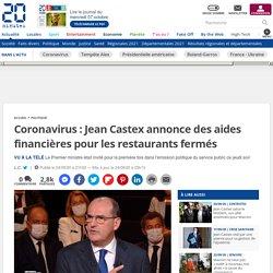 Coronavirus: Jean Castex annonce des aides financières pour les restaurants fermés - 20 minutes.fr - 24 Septembre 2020
