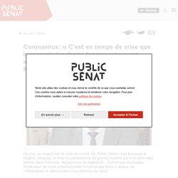 Coronavirus: «C'est en temps de crise que le respect des droits fondamentaux est encore plus important» selon Dominique Rousseau