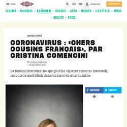 (2) Coronavirus: «Chers cousins français», par Cristina Comencini