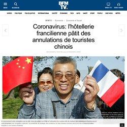 Coronavirus: l'hôtellerie francilienne pâtit des annulations de touristes chinois