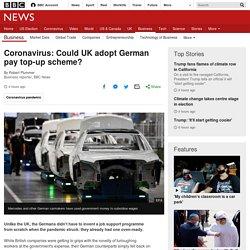 Coronavirus: Could UK adopt German pay top-up scheme?