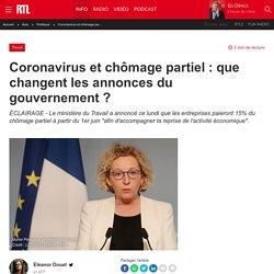Coronavirus et chômage partiel : que changent les annonces du gouvernement ?