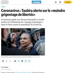 Coronavirus : Taubira alerte sur le «moindre grignotage de libertés»