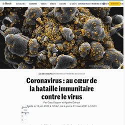 Coronavirus : au cœur de la bataille immunitaire contre le virus