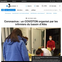 Coronavirus : un COVIDTON organisé par les infirmiers du bassin d'Alès