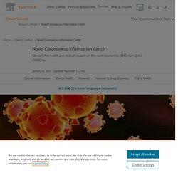 Elsevier - Novel Coronavirus Information Center