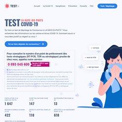 Centres test dépistage Coronavirus COVID-19 LA HAYE-DU-PUITS : informations