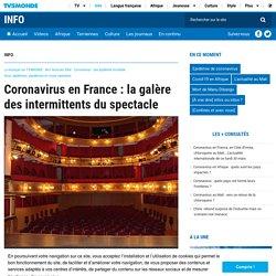 Coronavirus en France : la galère des intermittents du spectacle