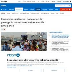 Coronavirus au Maroc: l'opération de passage du détroit de Gibraltar annulée cette année