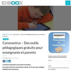 Coronavirus – Des outils pédagogiques gratuits pour enseignants et parents