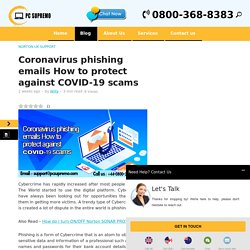 Coronavirus phishing emails How to protect against COVID-19 scams