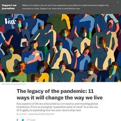 Coronavirus predictions: 11 ways theCovid-19pandemic will change us and the economy