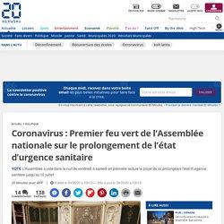 Coronavirus: Premier feu vert de l'Assemblée nationale sur le prolongement de l'état d'urgence sanitaire...
