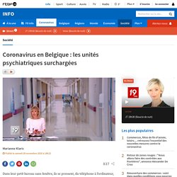 Coronavirus en Belgique: les unités psychiatriques surchargées