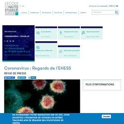 Coronavirus : Regards de l'EHESS