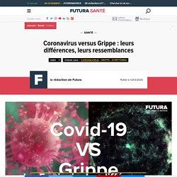 Coronavirus versus Grippe : leurs différences, leurs ressemblances