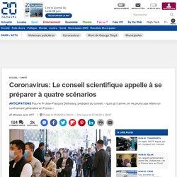 Coronavirus: Le conseil scientifique appelle à se préparer à quatre scénarios